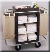 housekeeping maid cart