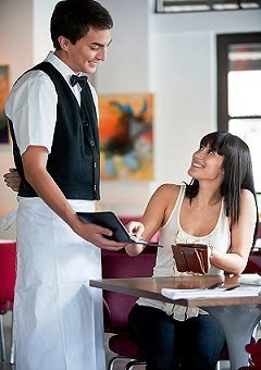 get tips from guest restaurant