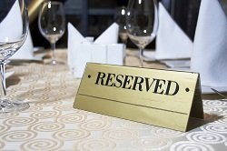 table reservation restaurant